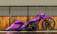 Purple bagger KC - HR